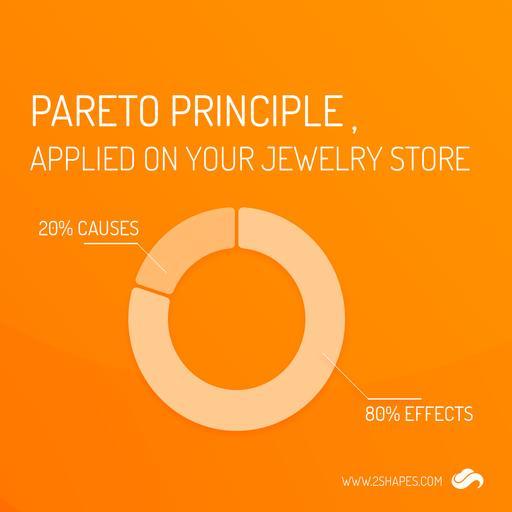 Pareto Principle. Applied on my Jewelry Store