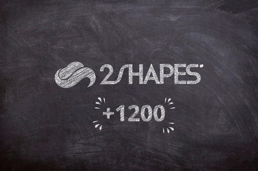 More than 1200 students in 2Shapes course!