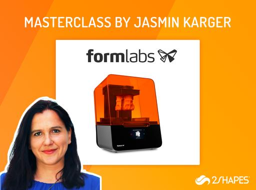 Masterclass by Jasmin Karger, Formlabs Jewellery Specialist and instructor in the GIA