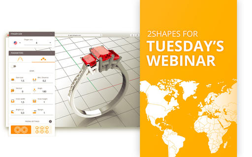 2Shapes Weekly Webinars every Tuesday and Friday