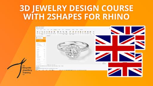 New 2Shapes Jewelry Course in English