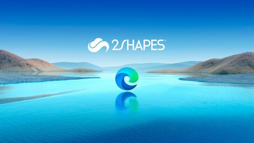 2Shapes supports Microsoft Edge