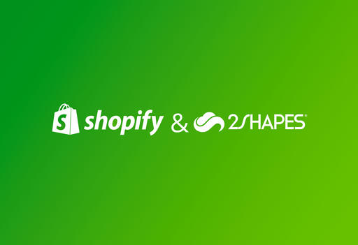 Get 2Shapes on your Shopify eCommerce