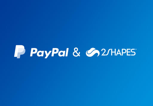Collect payments on 2Shapes with PayPal