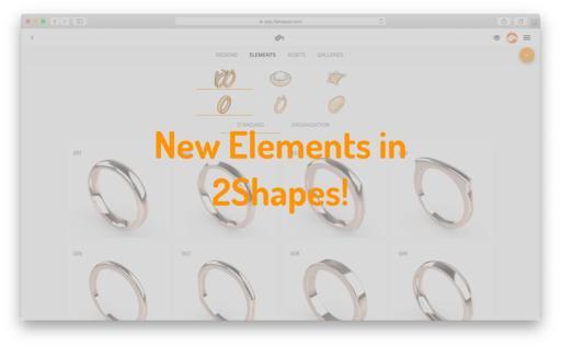 2Shapes has even more Elements!