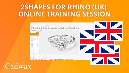 2Shapes for Rhino (UK) - Online training session