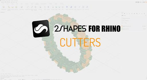 2Shapes Design for Rhino - Cutters